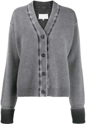 Maison Margiela faded boxy cardigan
