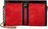 Gucci Ophidia Medium Suede & Leather Shoulder Bag