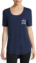 Fifth Sun Novelty Short-Sleeve Pocket Tunic Tee