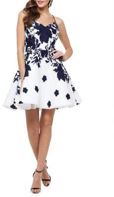Xscape Evenings Printed Cocktail Dress