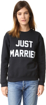 Private Party Just Married Sweatshirt