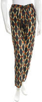 Figue Abstract Print Straight-Leg Pants