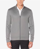 Perry Ellis Men's Big & Tall Fleece Jacquard Jacket