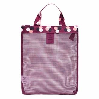 Fablcrew. Fablcrew Mesh Beach Bag Tote for Women Holiday Picnic Swimming Pool Storage Bag