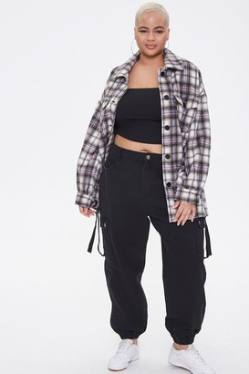Forever 21 Plus Size Plaid Shacket