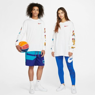 Nike Unisex Exploration Series Phoenix Basketball Long-Sleeve T-Shirt