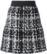 Dolce & Gabbana bouclé knit skirt - women - Silk/Cotton/Acrylic/Wool - 44