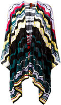 M Missoni knitted cape - women - Cotton/Viscose - One Size
