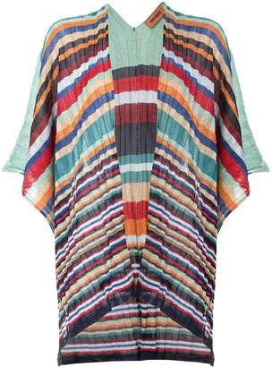 Missoni striped print kimono cardigan
