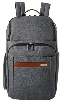 Briggs & Riley Kinzie Street - Large Backpack (Grey) Backpack Bags