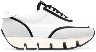 Marni Big Cut round platform sneakers