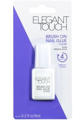 Elegant Touch Brush On Nail Glue 6Ml