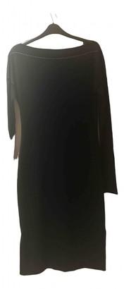 Tomas Maier Black Viscose Dresses