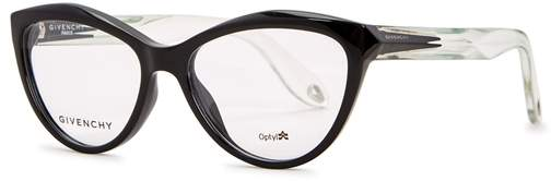 Givenchy Black Cat-eye Optical Glasses