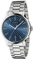 Gucci Stainless Steel Blue Dial Bracelet Watch