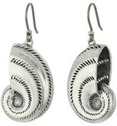 Lucky Brand Shell Drop Earrings