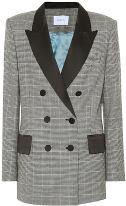 Racil Audrey checked wool blazer