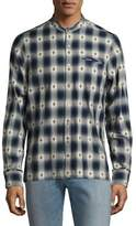 Ovadia & Sons Crosby Cotton Casual Button Down Shirt