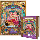 NEW MasterPieces Jigsaw Book Sleeping Beauty 1000pc