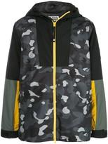 Bape Gradation Camo hooded jacket