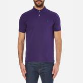 Polo Ralph Lauren Men's Custom Fit Polo Shirt Plum Candy
