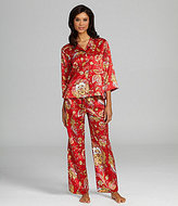 Natori N by Mongolia Classic Notch Pajamas