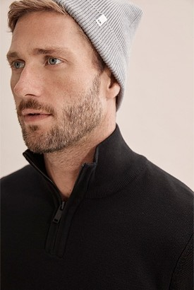 Country Road Cotton Knit Beanie