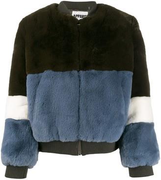 Apparis faux-fur bomber jacket