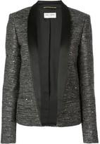 Saint Laurent tweed blazer