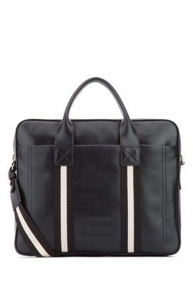 Bally Logo Stripe Detail Briefcase