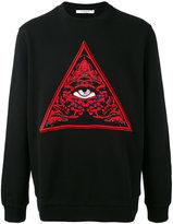 Givenchy eye print jumper