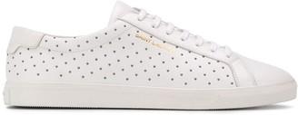Saint Laurent Andy stud-embellished sneakers