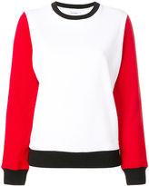 Courreges colour-block sweatshirt