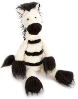 Jellycat Dainty Zebra Plush Animal, White/Black