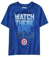 Crazy 8 Captain America Active Tee