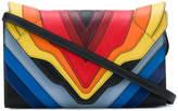 Elena Ghisellini rainbow shoulder bag