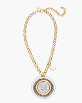 Chico's Emma Short Pendant Necklace