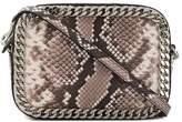 Casadei snakeskin-effect camera bag