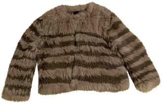 LK Bennett Multicolour Fur Coat for Women