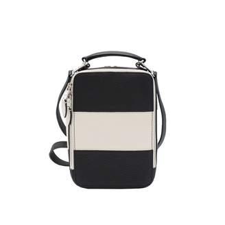 Sonia Rykiel Pave Black Leather Handbags