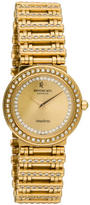 Raymond Weil 18K Gold-Plated Crystal Watch