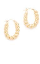 Soave Oro Camille Hoop Earrings
