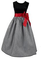 Jayne Copeland 7-16 Sleeveless Black Velvet Dress