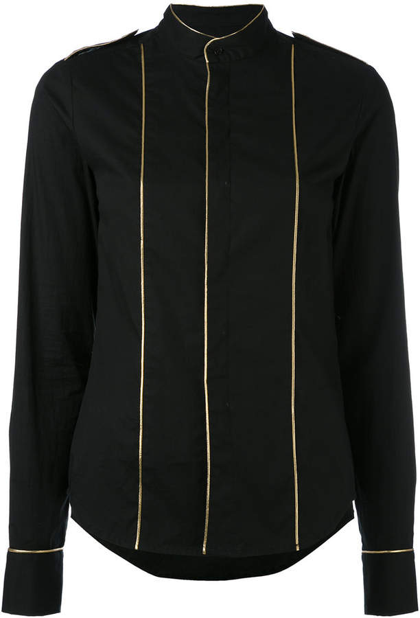 A.F.Vandevorst gold piped top