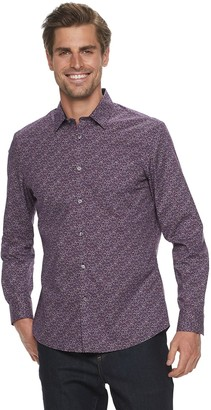 Apt. 9 Men's Non-Iron Modern-Fit Button Front Shirt