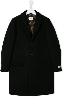 Fendi Button-Up Coat