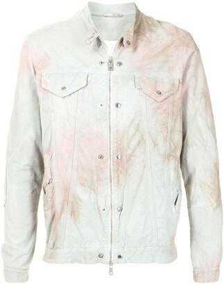 Giorgio Brato Distressed Leather Shirt Jacket
