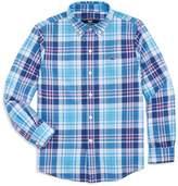Vineyard Vines Boys' Fort Sumter Plaid Shirt
