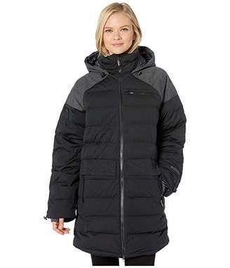 Spyder Transit GTX Infinium Down Parka (Black) Women's Coat