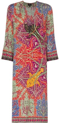 Etro Paisley-Print Tunic Dress